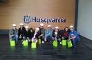 Wyjazd do zakładu Husqvarny w Mielcu